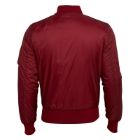 Surplus - Basic Bomber Jacket - Bordeaux