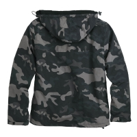Surplus - Zipper Windbreaker - Black Camo