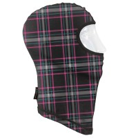 Seirus - Dynamax™ Balaclava Prints - Plaid-berry/cyan Prints