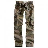 Surplus - Ladies Premium Trousers Slimmy - Woodland Washed