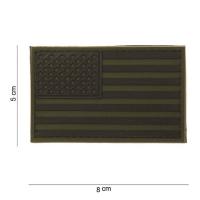 101 inc - Patch 3D PVC USA subdued #11181