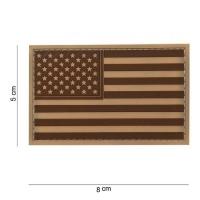 101 inc - Patch 3D PVC USA desert #11183