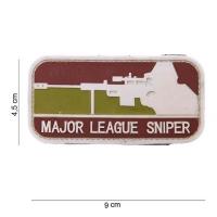 101 inc - Patch 3D PVC Major League sniper Arid #11159
