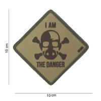 101 inc - Patch 3D PVC I am the danger #11150