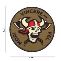 101 inc - Patch 3D PVC Mori Vincere Vel red/white