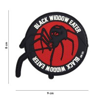 101 inc - Patch 3D PVC Black widdow eater red