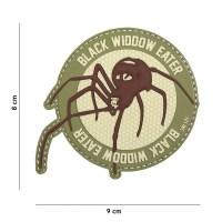101 inc - Patch 3D PVC Black widdow eater coyote