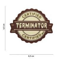 101 inc - Patch 3D PVC Terminator coyote