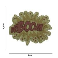 101 inc - Patch 3D PVC BOOM! brown