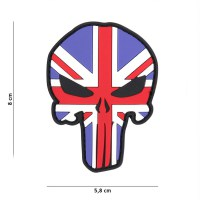 101 inc - Patch 3D PVC Punisher UK #9003