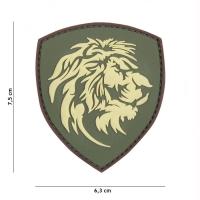 101 inc - Patch 3D PVC Dutch lion green #1097