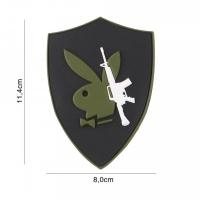 101 inc - Patch 3D PVC Playboy gun #5116