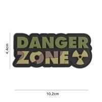 101 inc - Patch 3D PVC Danger Zone woodland #2111