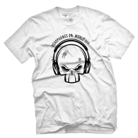 Fifty5 Clothing - Do Not Disturb Men's T Shirt - White