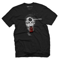 Fifty5 Clothing - Director Walken Men's T Shirt - Black