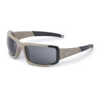 ESS - CDI MAX - Frame Terrain Tan/Lens Clear-Smoke