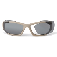 ESS - CDI - Frame Terrain Tan/Lens Clear-Smoke