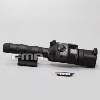 FMA - Tactical glare mount visible Laser - Black