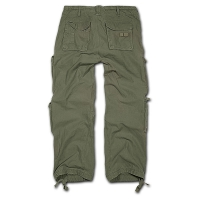 Brandit - Pure Vintage Trouser - Olive