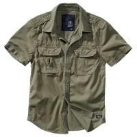Brandit - Vintage Shirt shortsleeve - Olive
