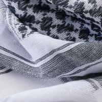 Brandit - Shemag Scarf - White-Black