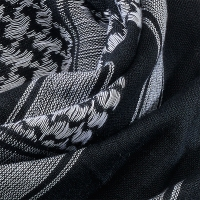 Brandit - Shemag Scarf - Black-White
