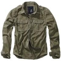 Brandit - Vintage Shirt longsleeve - Olive