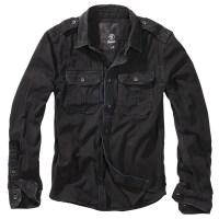 Brandit - Vintage Shirt longsleeve - Black
