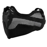 Emerson - V2 Strike Steel Half Face Mask - Black