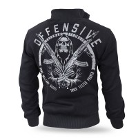 Dobermans - Military Offensive Classic zipped sheepskin sweatshirt - Black