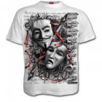 Spiral Direct - REBELLION - T-Shirt White