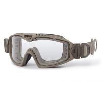 ESS - Influx AVS Goggle - Frame Terrain Tan / Lens Clear-Smoke