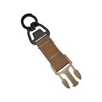 Emerson - L.Q.E multi-purpose Change hanging buckle - Coyote Brown