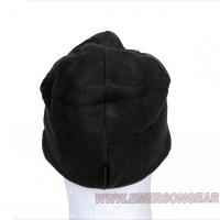 Emerson - Fleece Velcro Watch Cap - Black