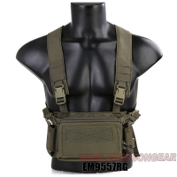 Emerson - D3CR Micro ChestRig - Ranger Green