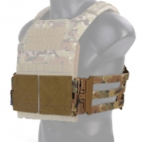 Emerson - Vest single point quick release Mesh Cummerbund - Ranger Green