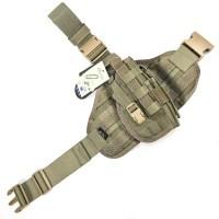 Flyye - MOLLE Pistol Holster Ver.1 - Ranger Green