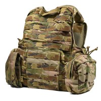 Flyye - CIRAS(MAR) Force Recon Vest with Pouch Set Ver.MAR Multicam Deluxe Edition