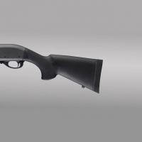 Hogue - Remington 870 12 Gauge OverMolded Shotgun Stock kit w/forend - 12'' L.O.P. - Black