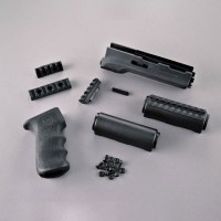 Hogue - AK-47/AK-74 Standard Russian - Kit - OverMolded Grip and Forend - Black