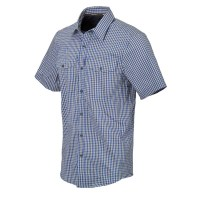 Helikon-Tex - Covert Concealed Carry Short Sleeve Shirt - Royal Blue Checkered