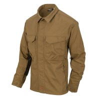 Helikon-Tex - WOODSMAN Shirt - Coyote / Taiga Green A