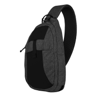 Helikon-Tex - EDC Sling Backpack - Nylon Polyester Blend - Black-Grey Melange