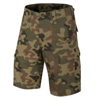 Helikon-Tex - Combat Patrol Uniform Shorts - PL Woodland