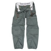 Kosumo - Stone washed trousers - Green