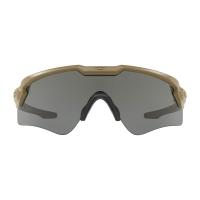 Oakley - Standard Issue Ballistic M Frame Alpha - Terrain Tan Frame with Grey Lenses