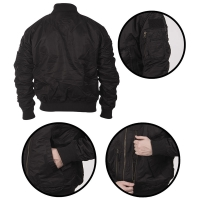 Sturm - US Black Tactical Flight Jacket