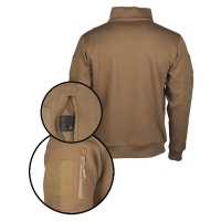 Sturm - Dark Coyote Tactical Sweat-Shirt With Zipper