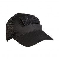 Sturm - Black Net Baseball Cap