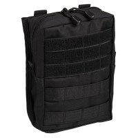 Sturm - Black Molle Belt Pouch Large